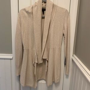 White House Black Market Drapey Cardigan